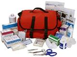 Click on Photo for Trauma Bags and First Aid Kits